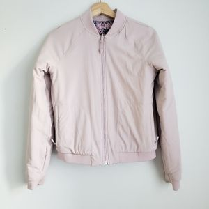 Lululemon Ivivva Reversable Jacket Purple Pink Sm